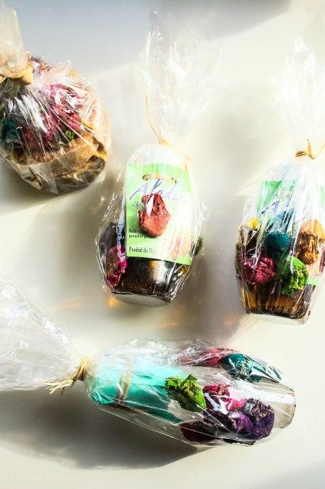 Argan oil, hair serum and handmade soaps from La Botica de la Abuela Aladdin, Chefchaoen