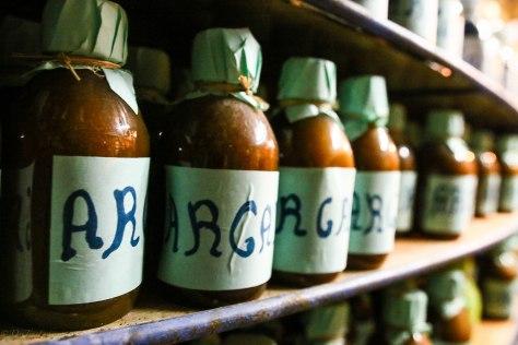 Argan oil atLa Botica de la Abuela Aladdin, Chefchaoen