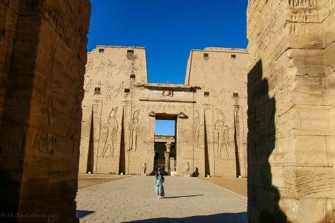 Egypt Lookbook: Blouson Sleeve Hi-Low Dress