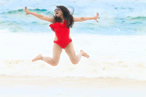 Baywatch Red Swimsuit in Brazil