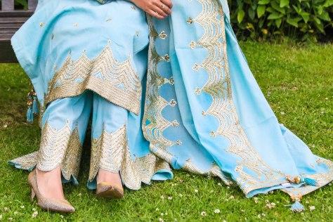 Eid Look: Pakistani Kurta and Sharara Set Made in India