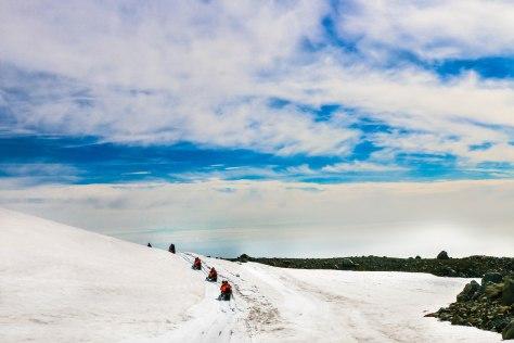 Birthday Snow-Mobile on Mýrdalsjökull Glacier