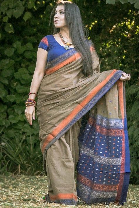 SareeSutra: Wearing Handloom Baluchori