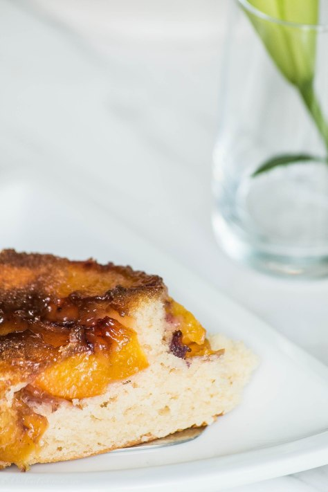Pucker up to Peach Cake