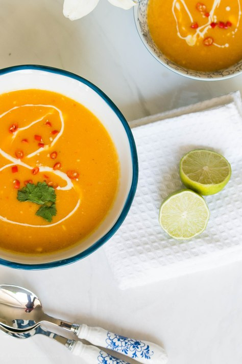 Butternut squash soup: Squash Your Weeknight Dinner Blues