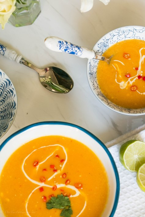 Butternut squash soup: Squash Your Weeknight Dinner Blues