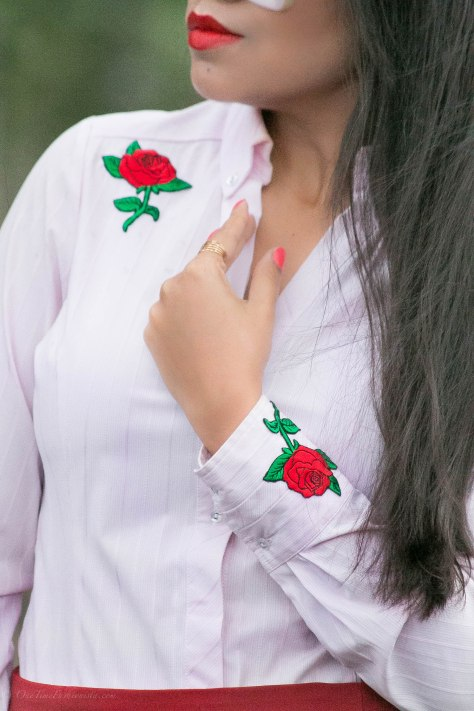DIY Upcycle and Restyle with Embroidered Patch
