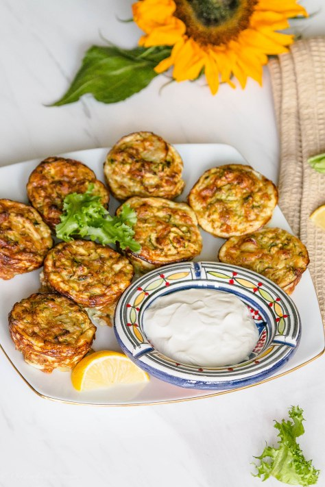 Courgette Tots
