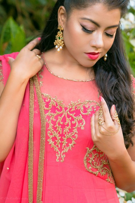 Eid Look: Malasa Anarkali Musings