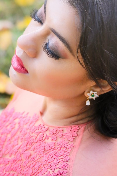Diwali Look: Lighting Up The Autumn Leaves