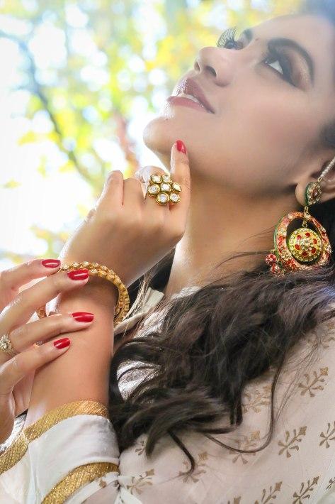 Diwali Look: Wearing Biba, TribebyAmrapali, LoveForPrettyThings & LoveToBag