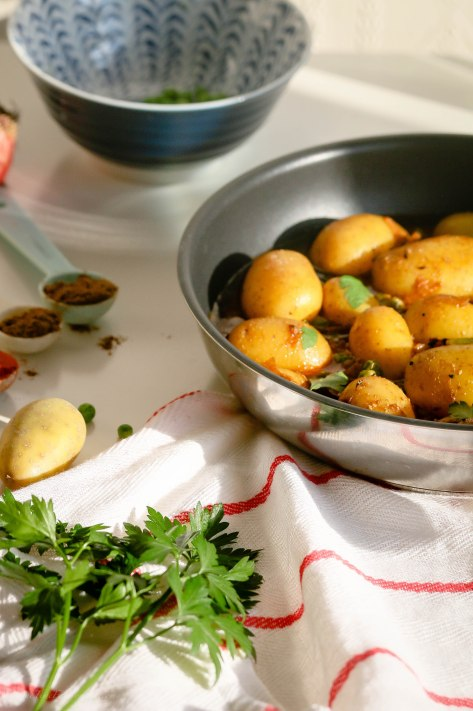 Vegan Curry With New Potato and Pea | Onetimefashionista
