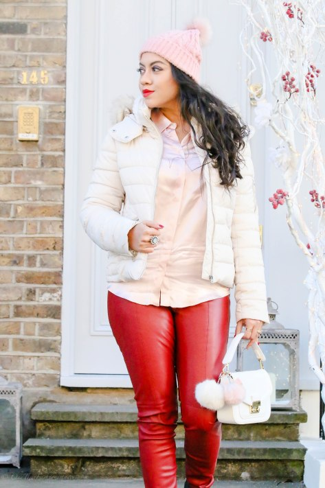 The Way To Warmth: Anorak Jacket & Faux-Leather Leggings