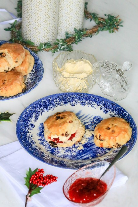 Classic Scones with Jam & Clotted Cream | Onetimefashionista