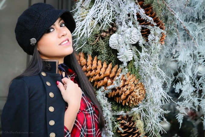 How to wear Check Shirt Dress In Winter