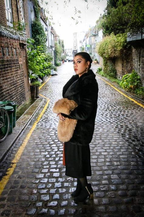 Winter Color Blocking & Faux Fur