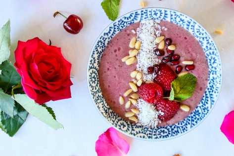 Breakfast Smoothie Bowls Three Ways
