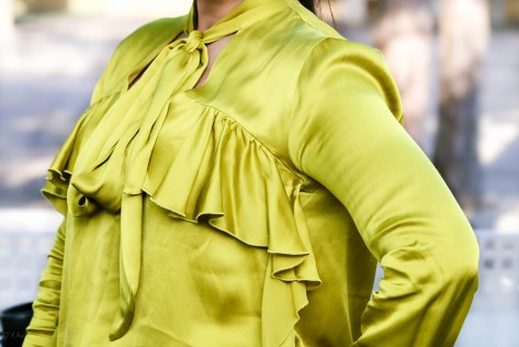 Fashion's Frilly Moment: Ruffle Detail Blouses For Spring