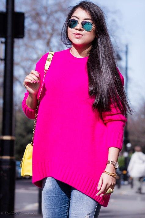 Casual Spring Wear: Chunky Sweaters & Boyfriend Jeans