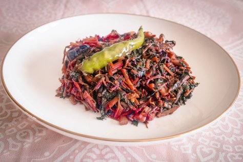 Lal-Shak Shake Up: Bengali Red Spinach Specialty