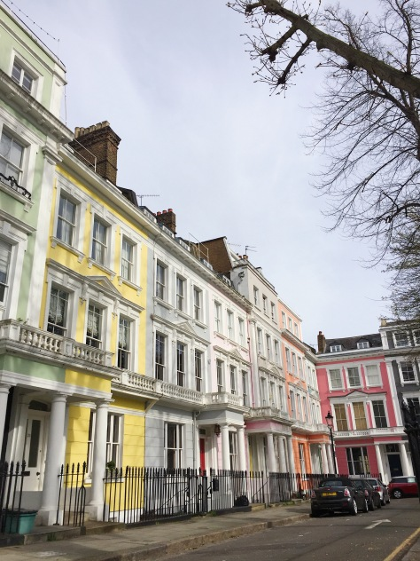 Chasing the primary colours of Primrose Hill