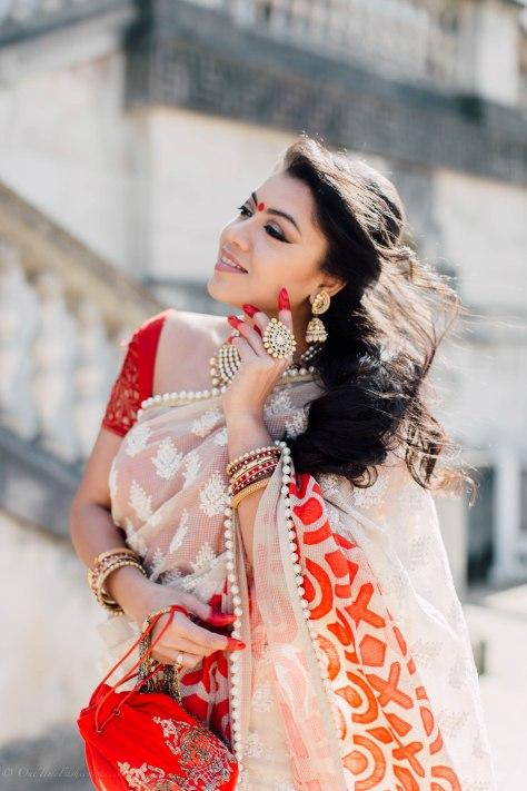 Pohela Boishakh Look: Tanusree Wearing Tanusree