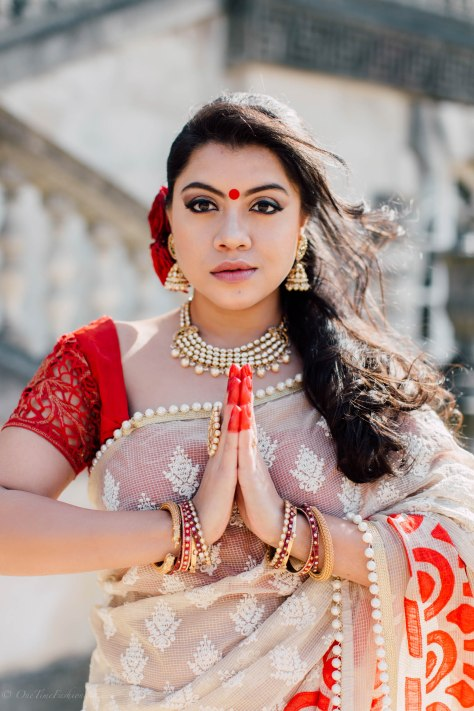 Bengali New Year's Look: Tanusree Wearing Tanusree