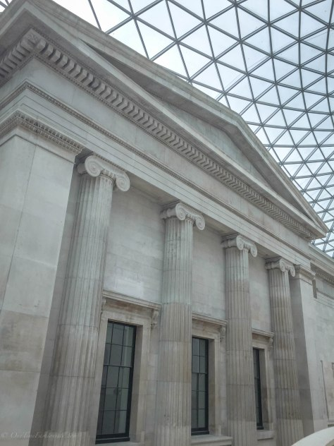 A Rainy Day At The British Museum